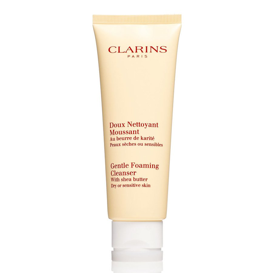 Clarins Gentle Foaming Cleanser For Dry/Sensitive Skin 125ml