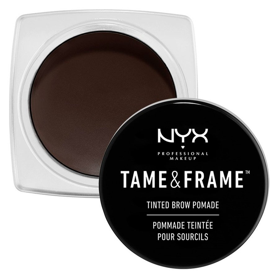 NYX Professional Makeup Tame & Frame Tinted Brow Pomade 05 Black TFBP05
