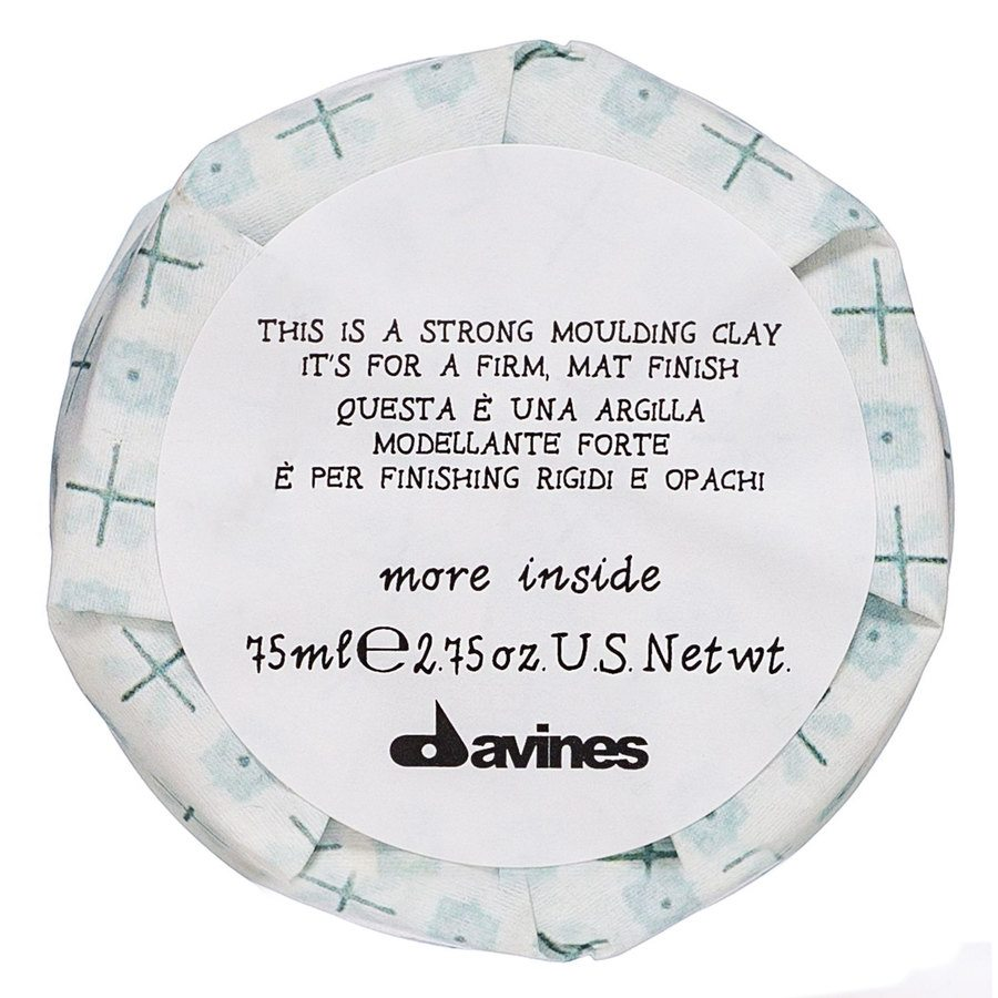 Davines More Inside This Is A Strong Moulding Clay 100ml