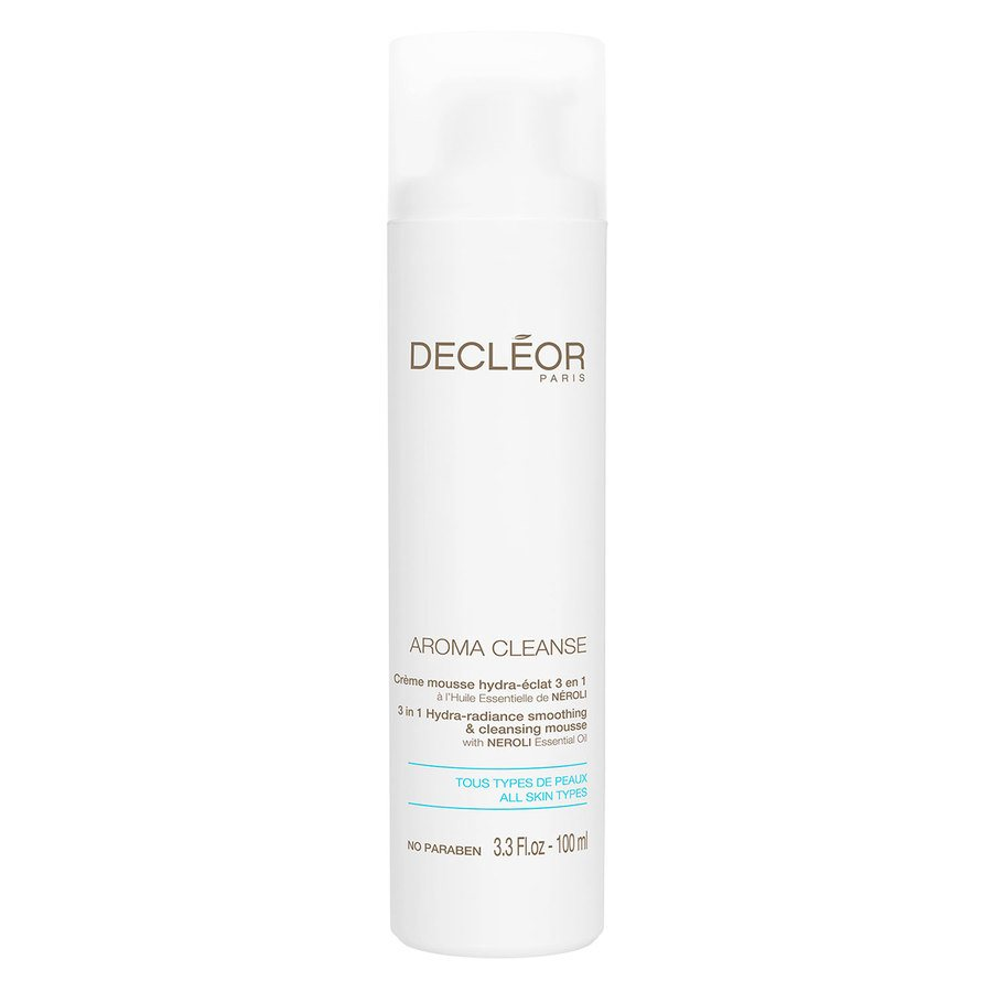 Decléor Aroma Cleanse 3 In 1 Hydra-Radiance Smoothing & Cleansing Foam 100ml