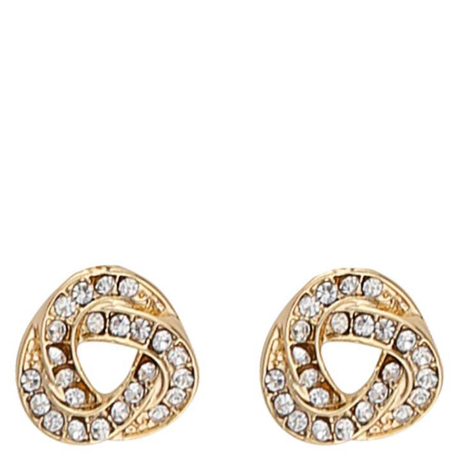 Snö Of Sweden Leonie Small Earring Gold/Clear