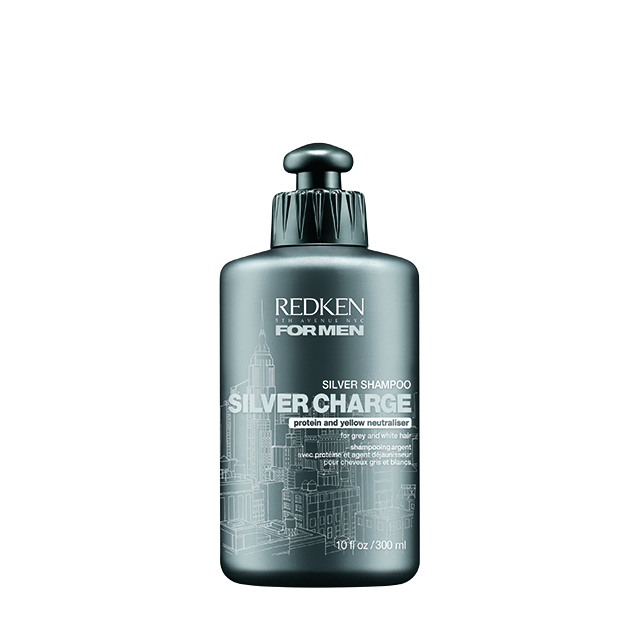 Redken For Men Silver Charge Shampoo 300ml
