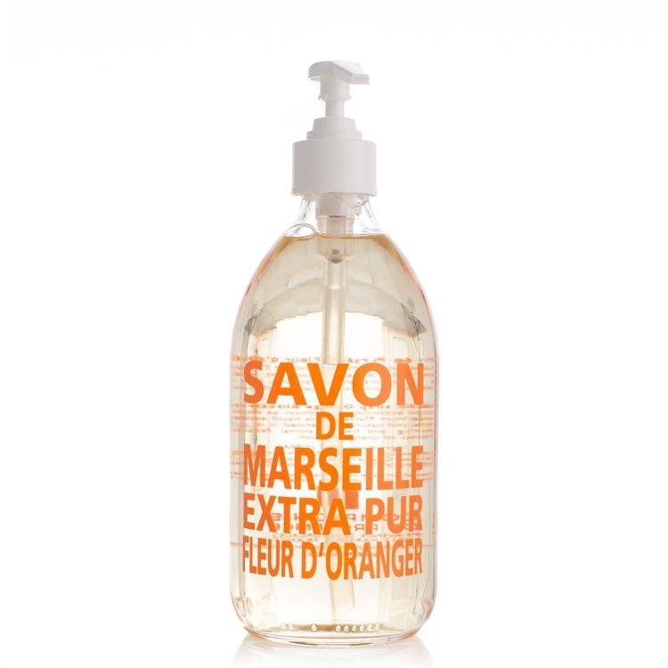 Compagnie De Provence Liquid Soap Orange Blossom Glasflaske 500 ml