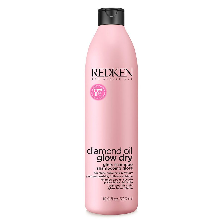 Redken Diamond Oil Glow Dry Gloss Shampoo 500ml