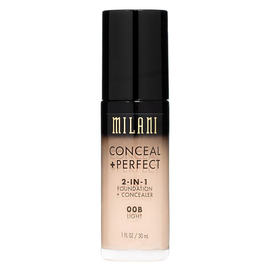 Milani Conceal & Perfect 2 In 1 Foundation + Concealer Light