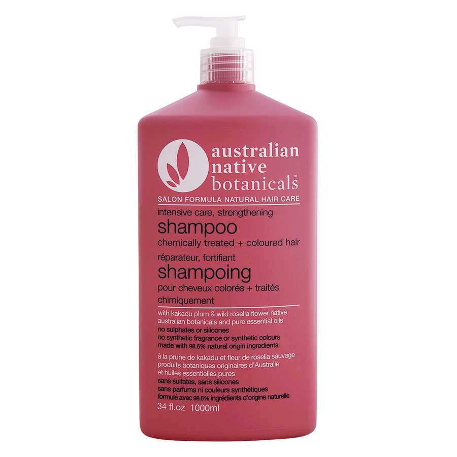 Australian Native Botanicals Strengthening Shampoo For Chemically Treated & Coloured Hair 1000ml
