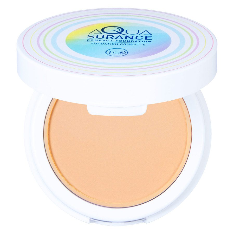 J.Cat Aquasurance Compact Foundation Ivory