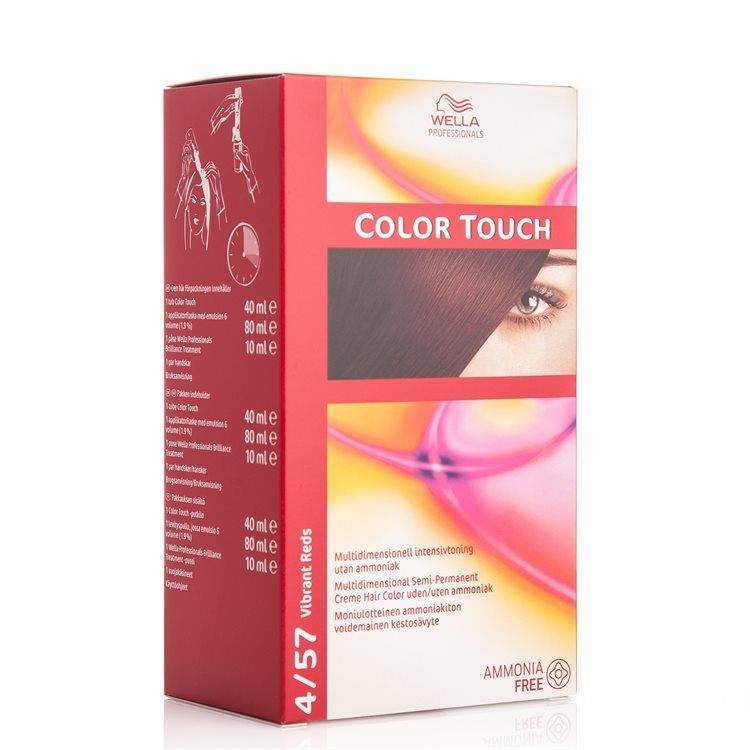 Wella Professionals Color Touch CT OTC 100 ml 4/57 Vibrant Red SKAN