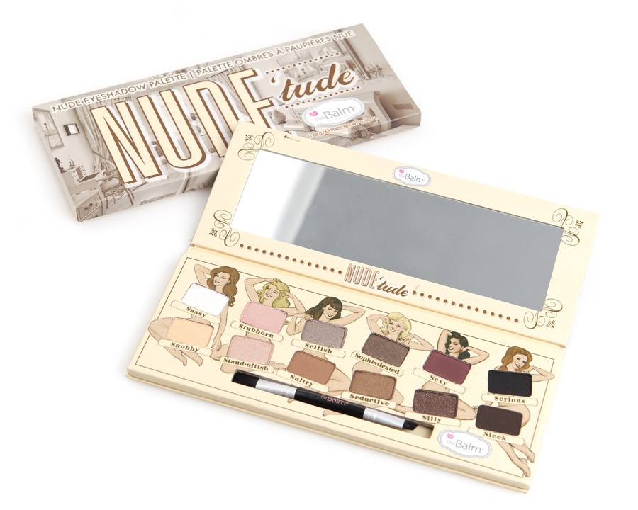 The Balm Nude'Tude Eyeshadow Palette 12 Farger I settet