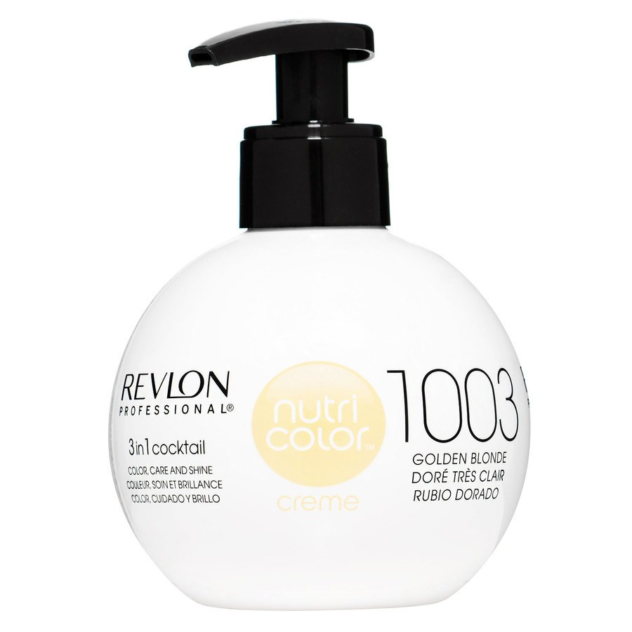 Revlon Professional Nutri Color Creme 270ml #1003 Pale Gold