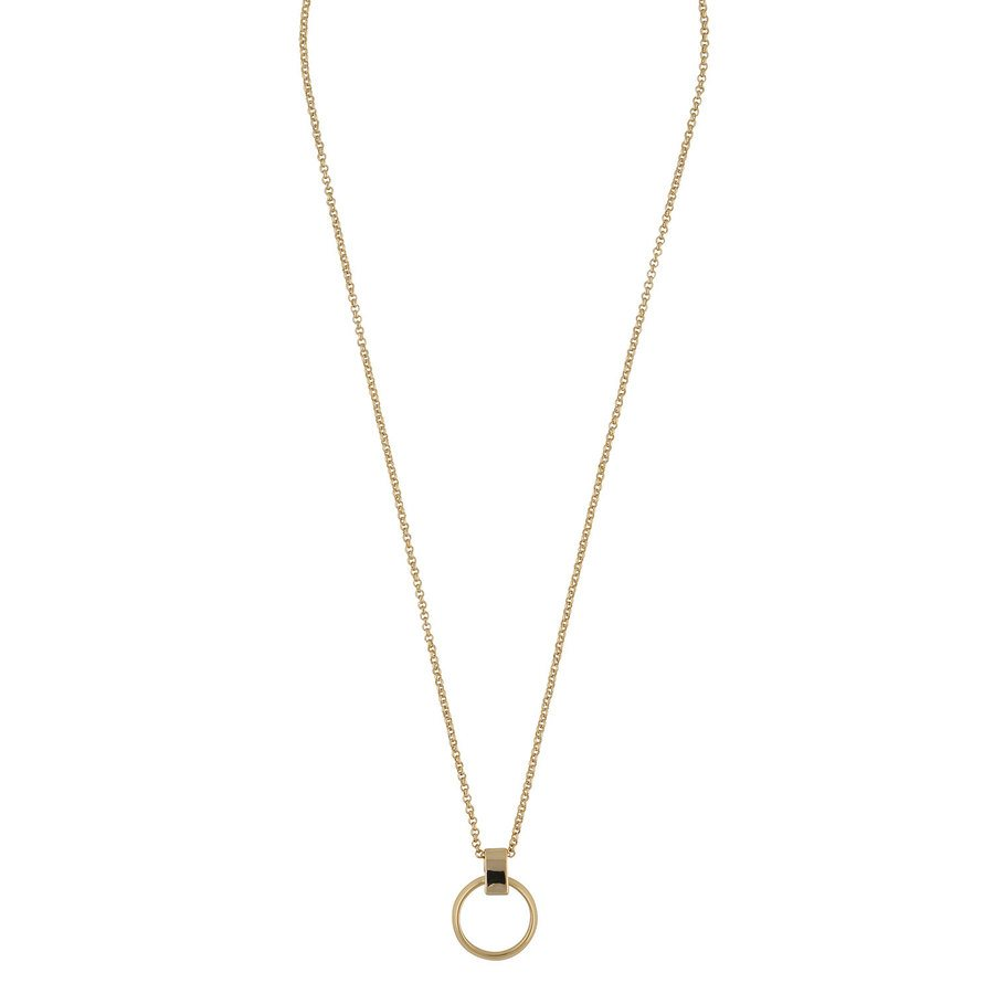 SNÖ of Sweden Gwen Pendant Neck Plain Gold 42 cm