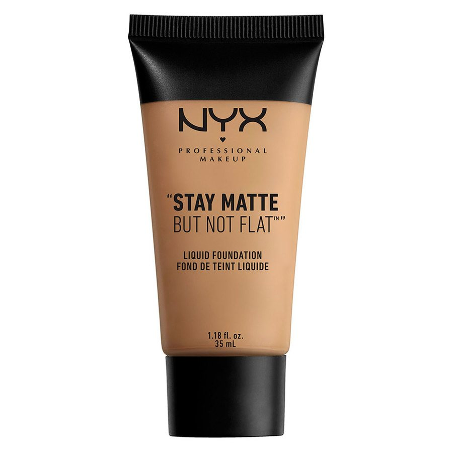 NYX Prof. Makeup Stay Matte But Not Flat Liquid Foundation Caramel 35ml SMF10