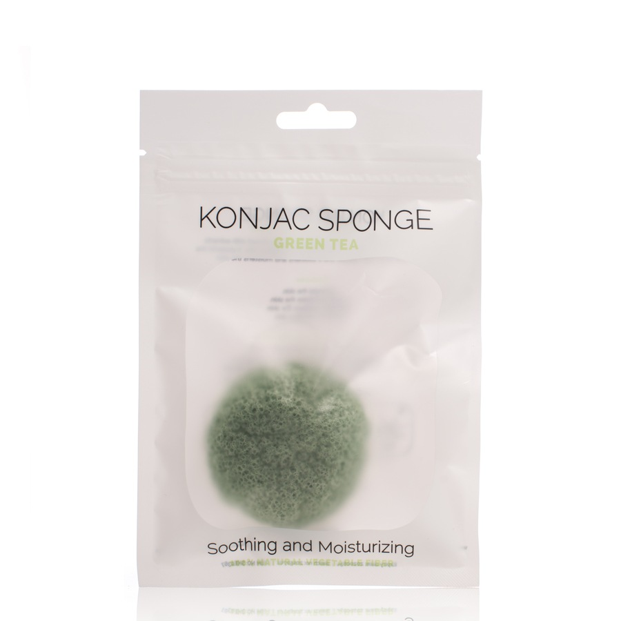 Shelas Konjac Svamp. Model Green Tea