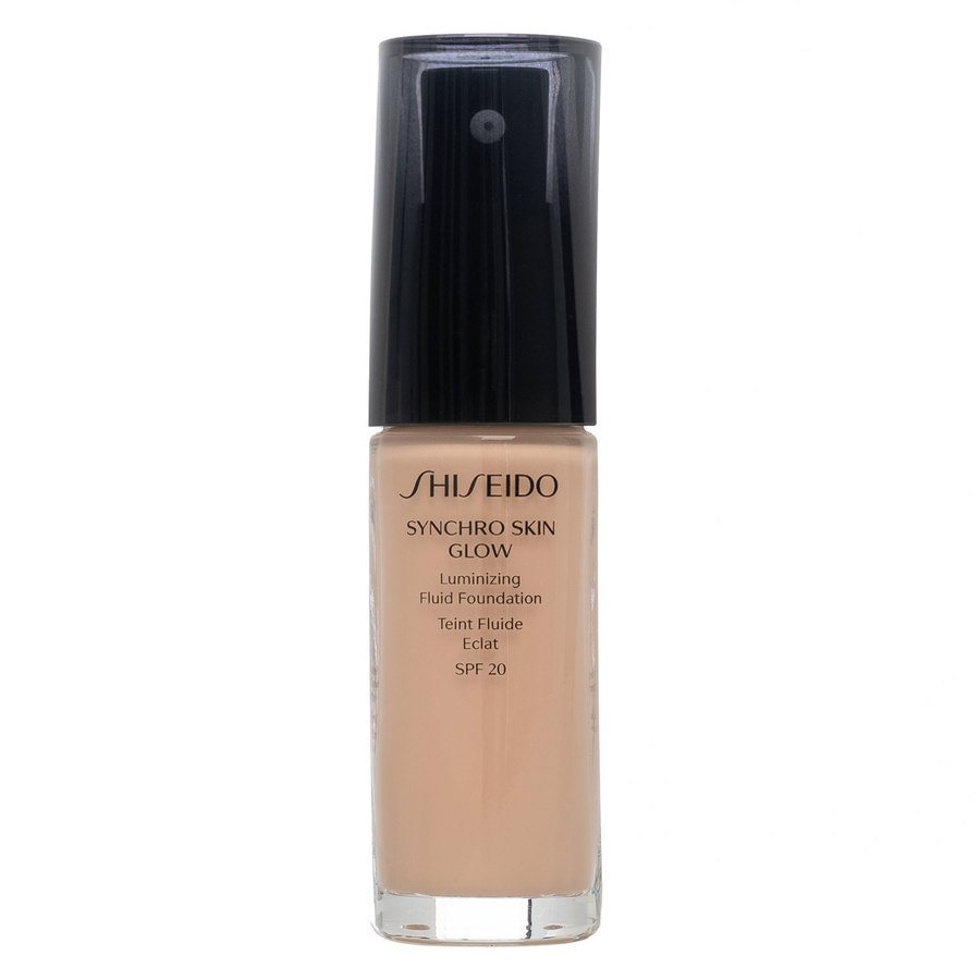 Shiseido Synchro Skin Glow Luminizing Foundation Rose #3 30 ml