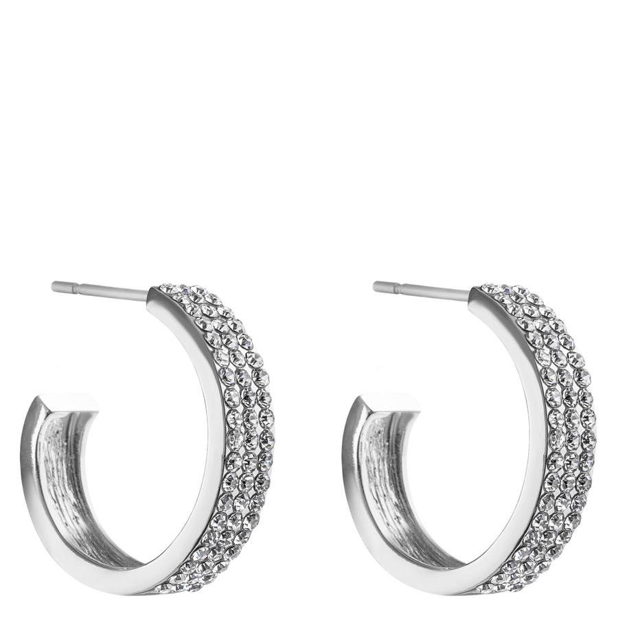 Snö of Sweden Carrie Earring Silver/Clear