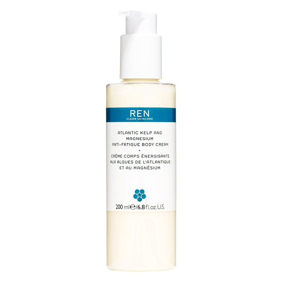 REN Atlantic Kelp And Magnesium Anti-Fatigue Body Cream 200ml