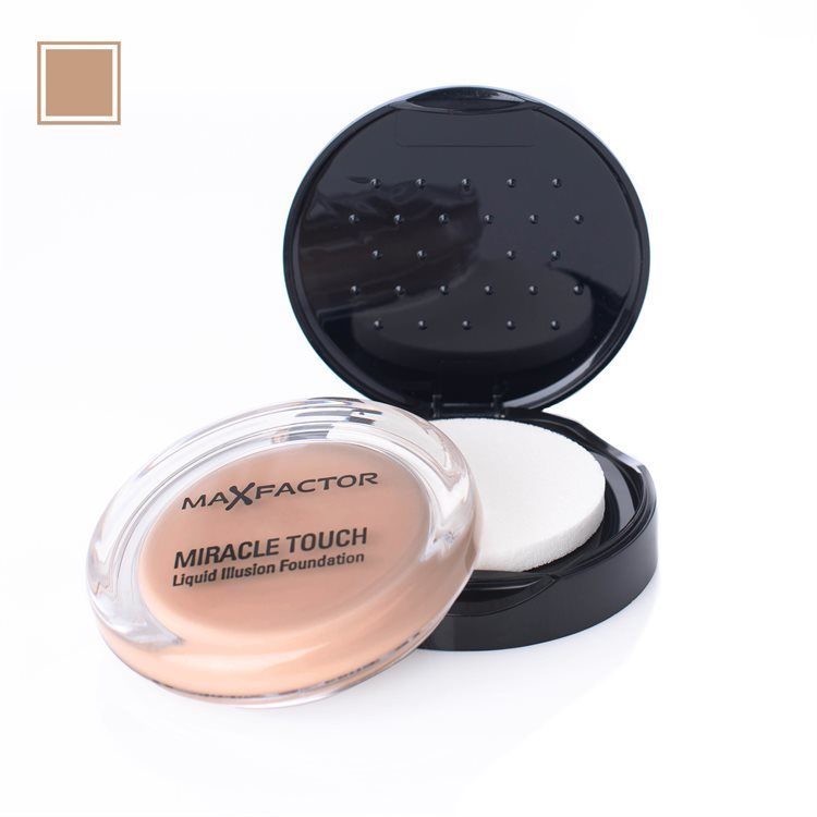 Max Factor Miracle Touch Foundation 45 Warm Almond 11,5g