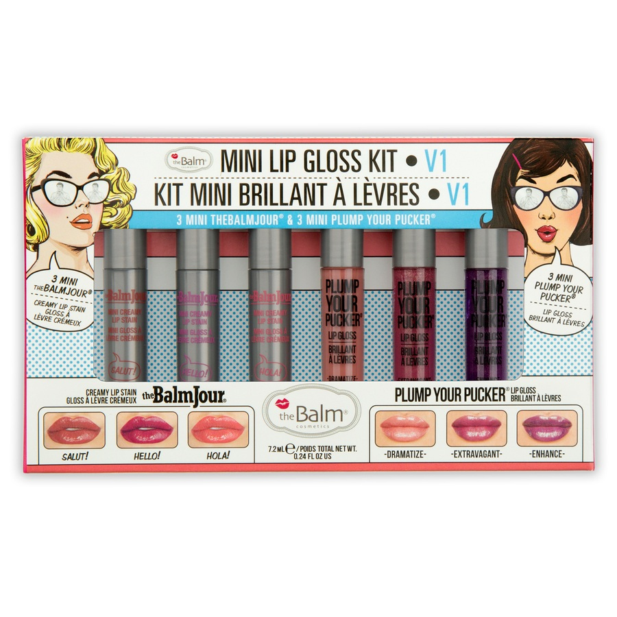 theBalm Mini Lip Gloss Kit vol. 1 7,2 ml