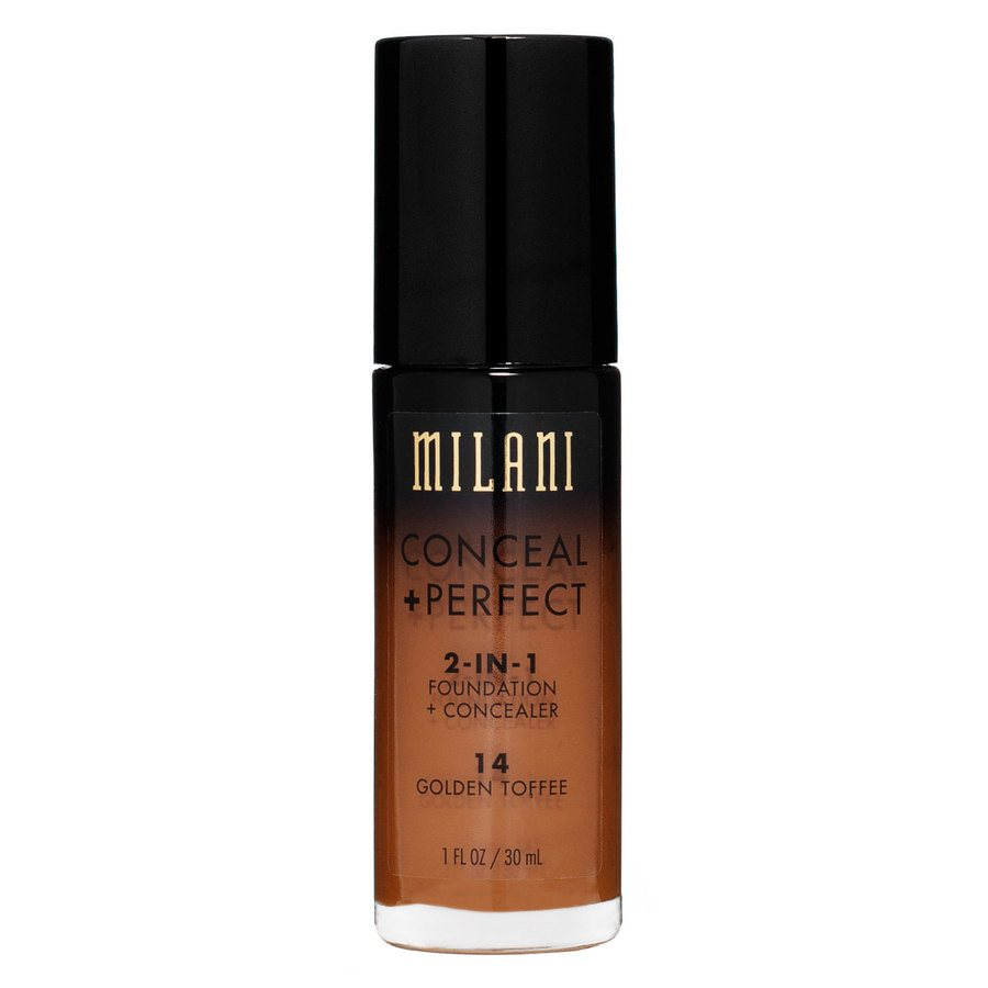 Milani Conceal & Perfect 2 In 1 Foundation + Concealer Golden Toffee 30ml