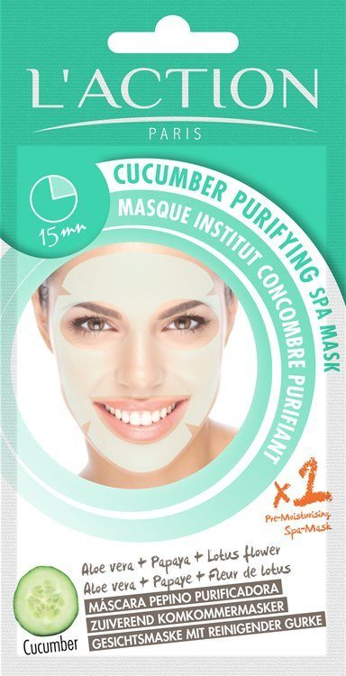 L'Action Paris Cucumber Purifying Spa Mask 26g