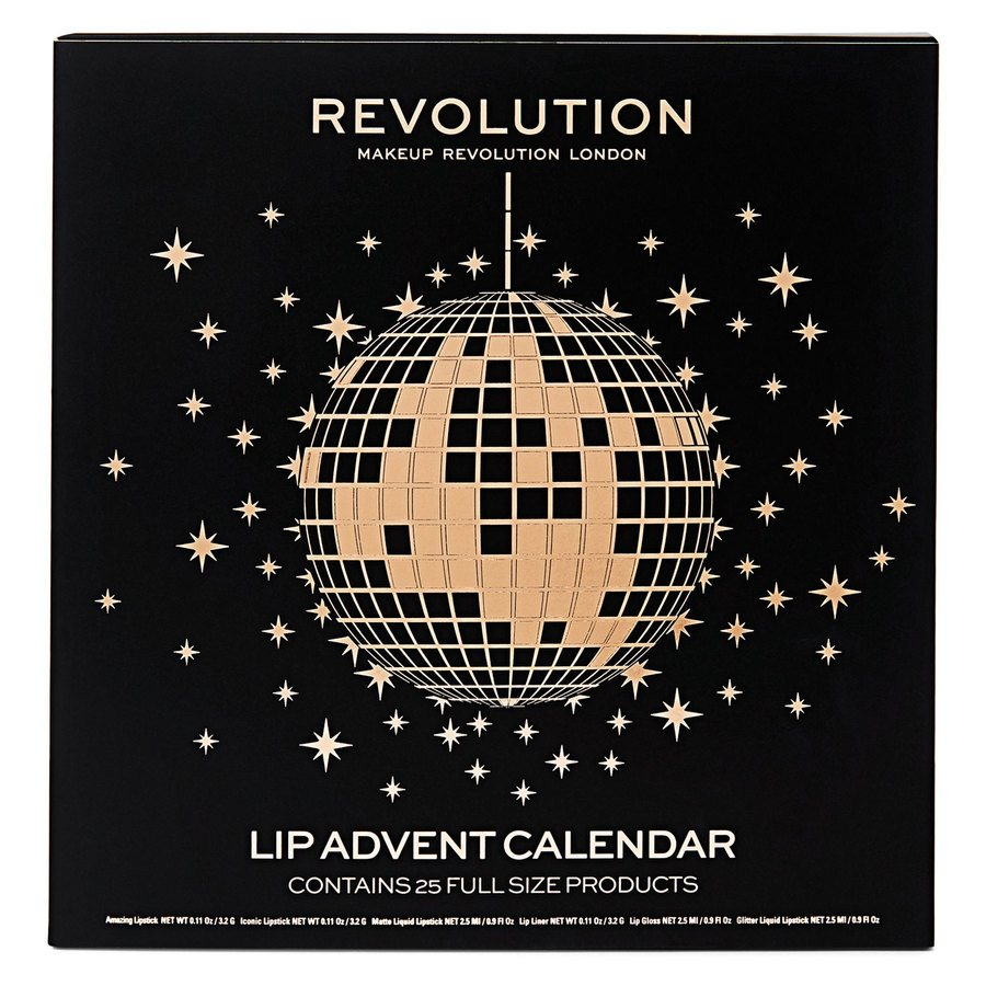 Makeup Revolution Lip Advent Calendar