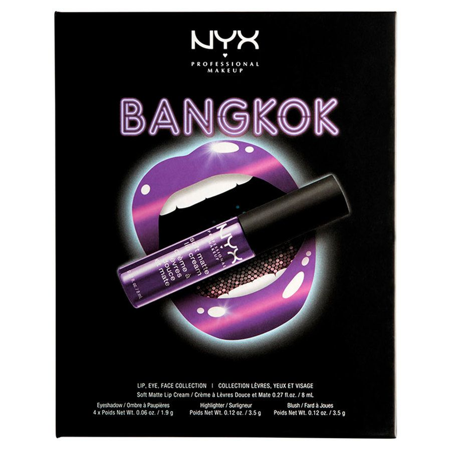 NYX Professional Makeup City Set Bangkok