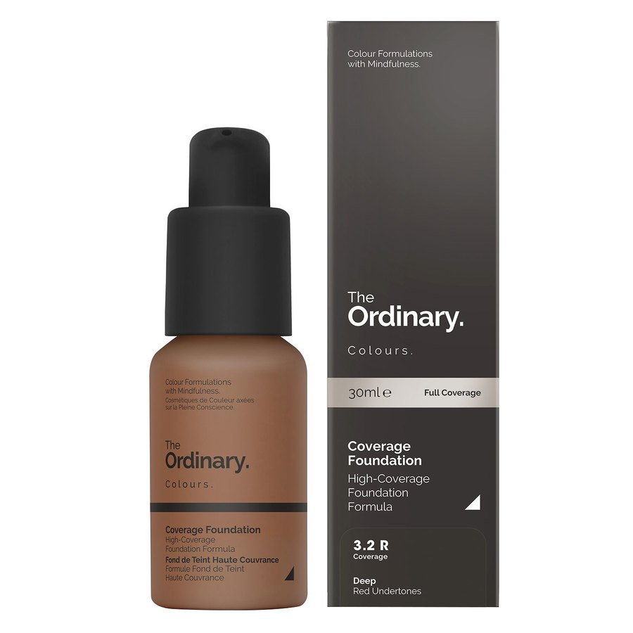 The Ordinary Coverage Foundation 3.2 R deep Red