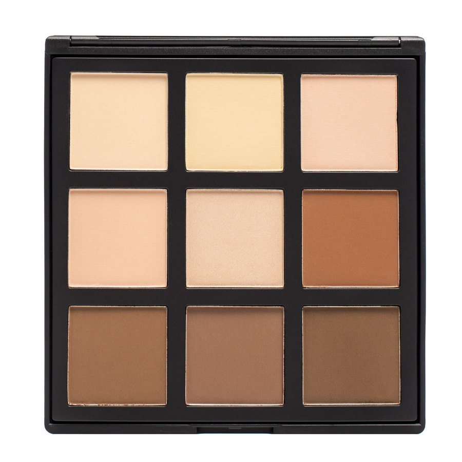 Smashit Cosmetics 9 Color Contouring Powder Palette