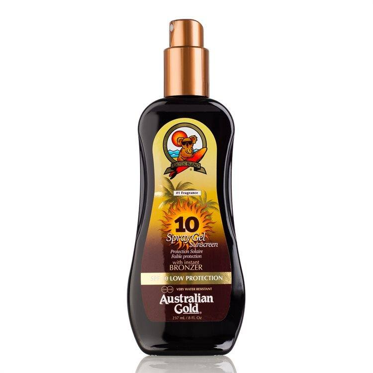 Australian Gold SPF 10 Spray Gel bronzer 237ml