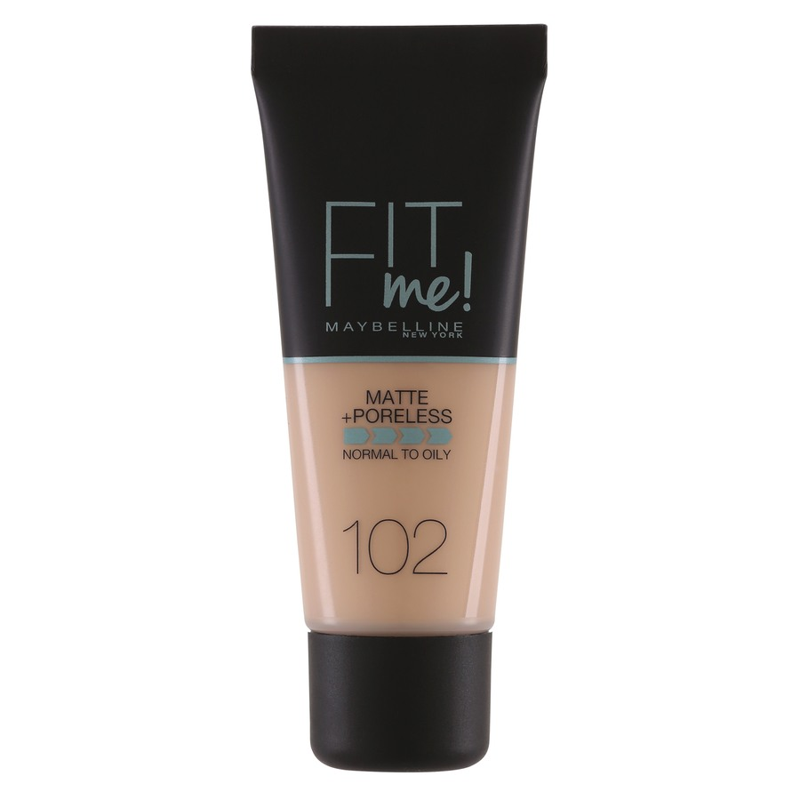 Maybelline Fit Me Makeup Matte + Poreless Foundation 102 30ml Tube