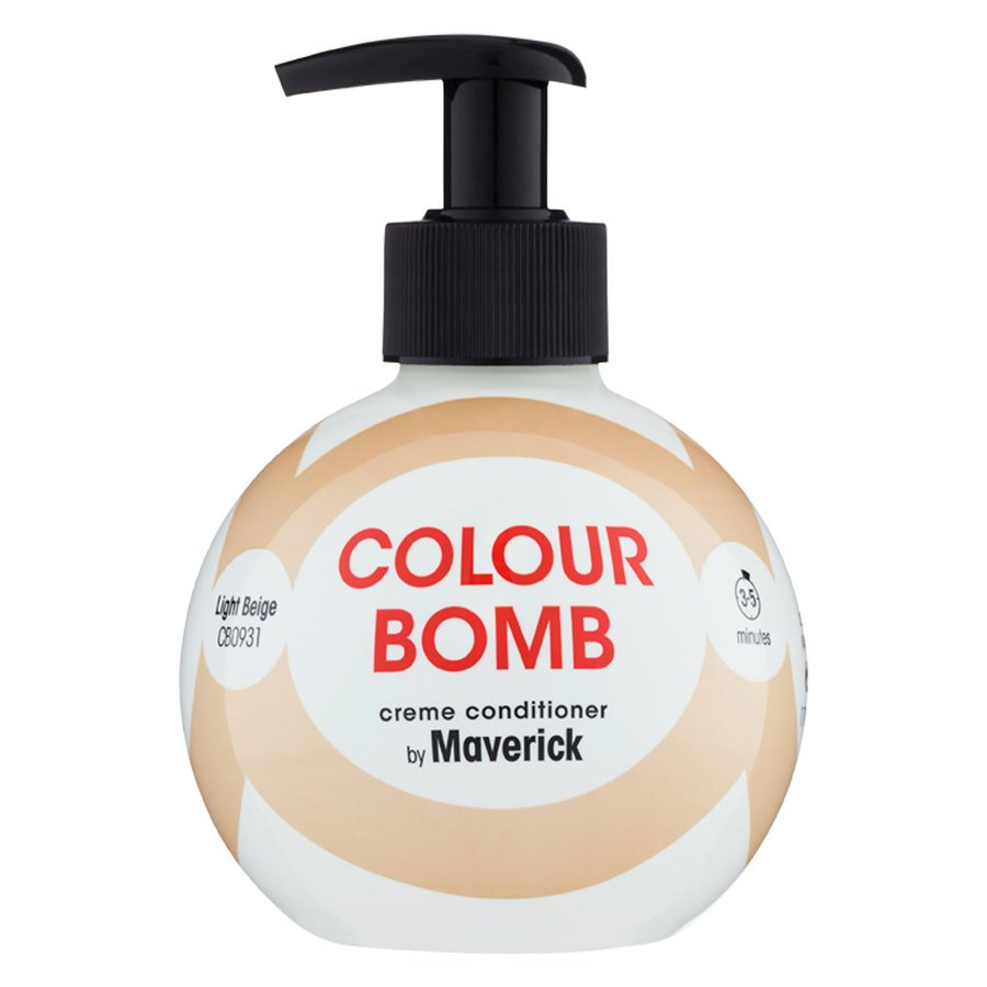 Colour Bomb Farvebalsam Light Beige 250 ml