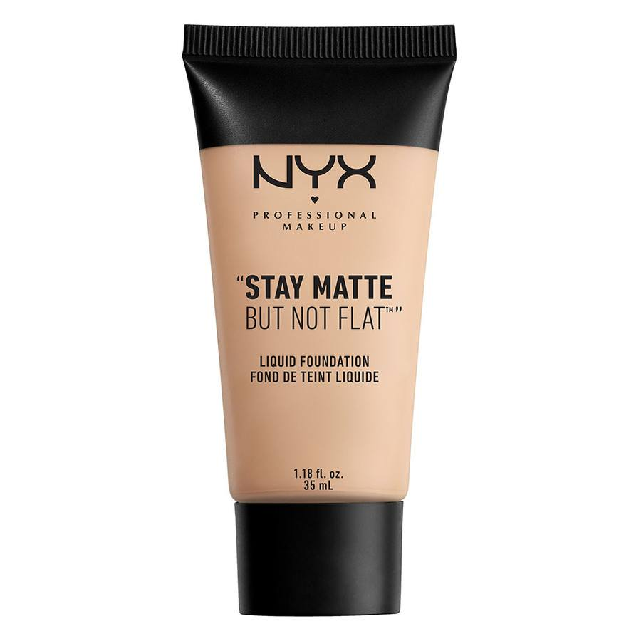 NYX Prof. Makeup Stay Matte But Not Flat Liquid Foundation Porcelain 35ml SMF 16