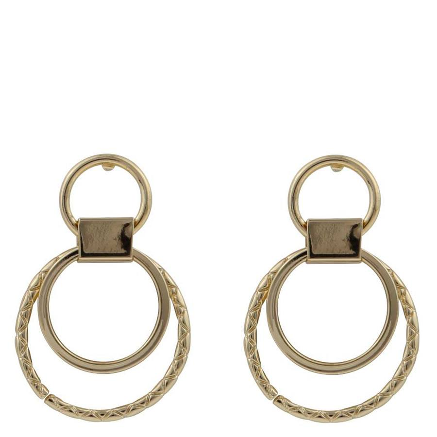 Snö Of Sweden Capella Small Round Earring Gold