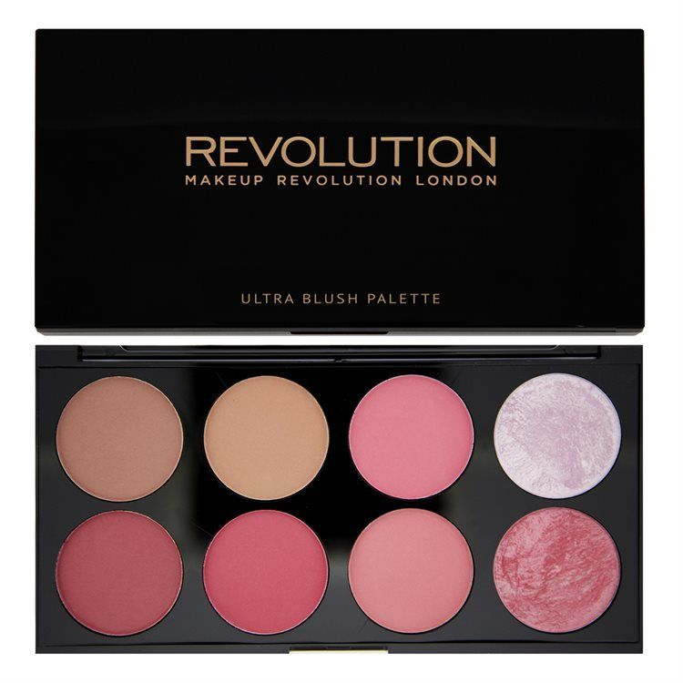 Makeup Revolution Ultra Blush Palette Sugar and Spice 13g