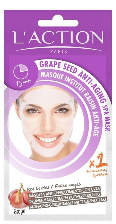 L'Action Paris Grape Seed Anti-Aging Spa Mask 26g