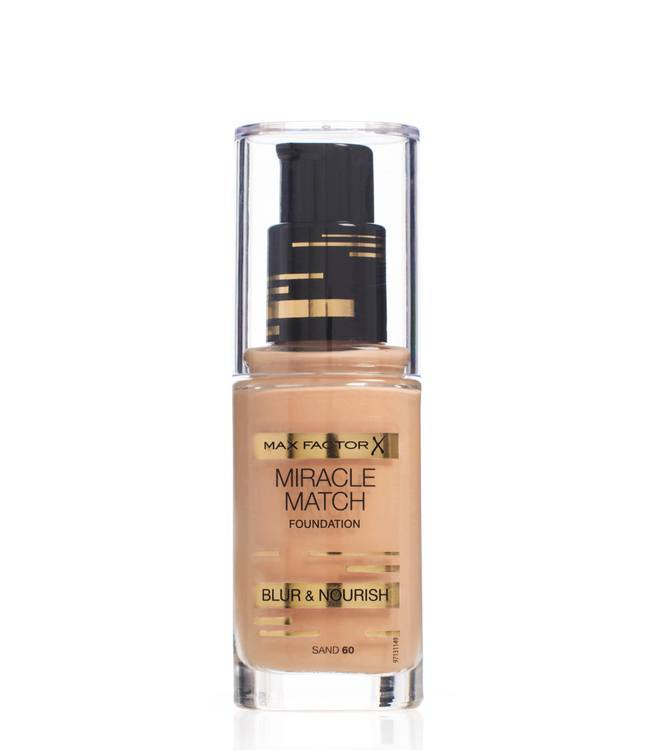 Max Factor Miracle Match Foundation Sand 060