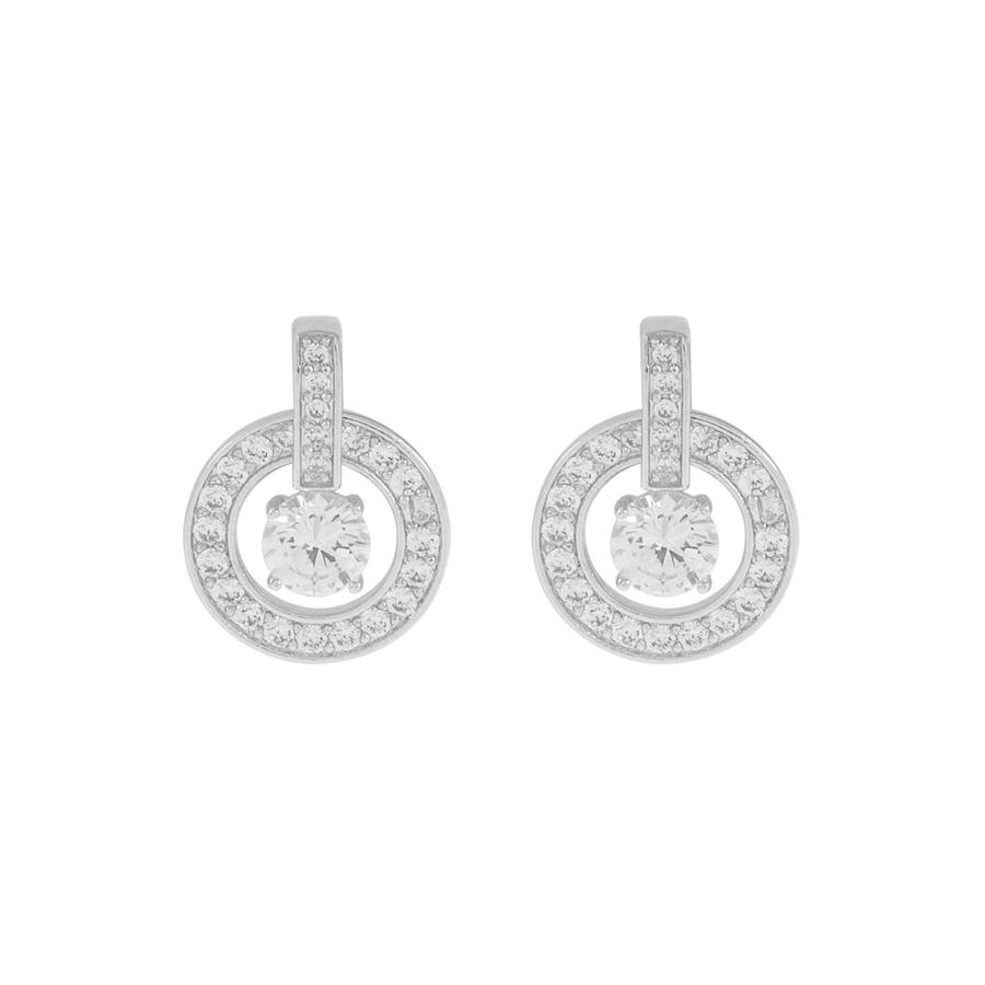 Snö Of Sweden Elaine Earring Silver/Clear