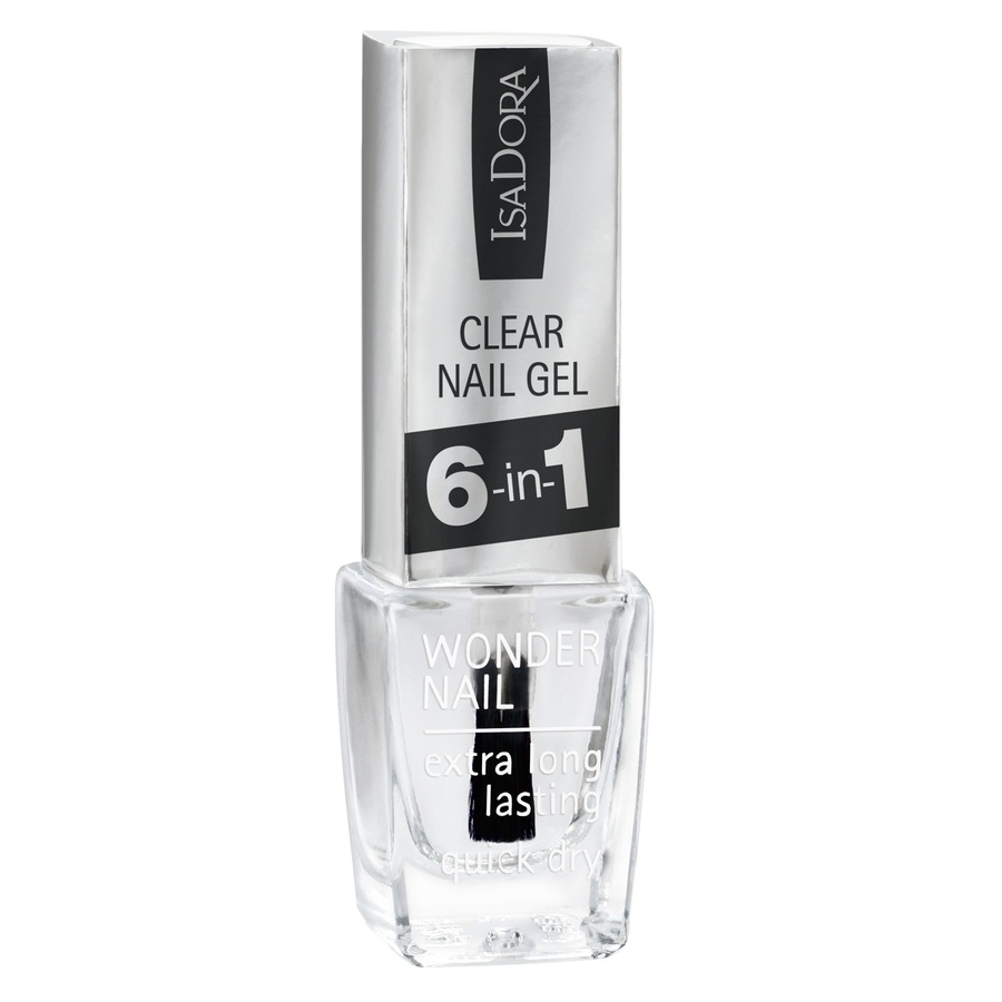 IsaDora 697 Clear Nail Gel 6-in-1 6 ml