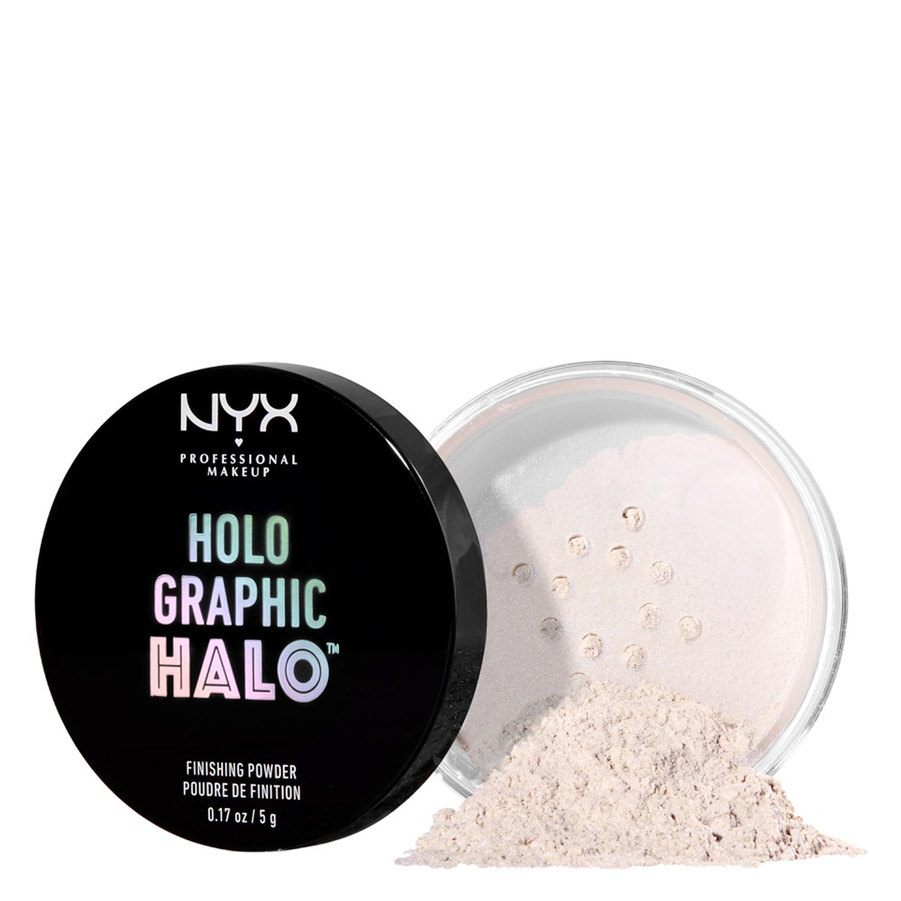 NYX Professional Makeup Holographic Halo Finishing Powder Mermazing