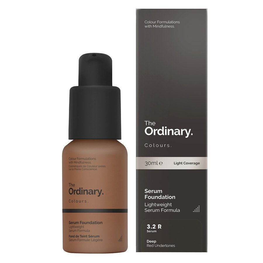 The Ordinary Serum Foundation 3.2 R deep Red
