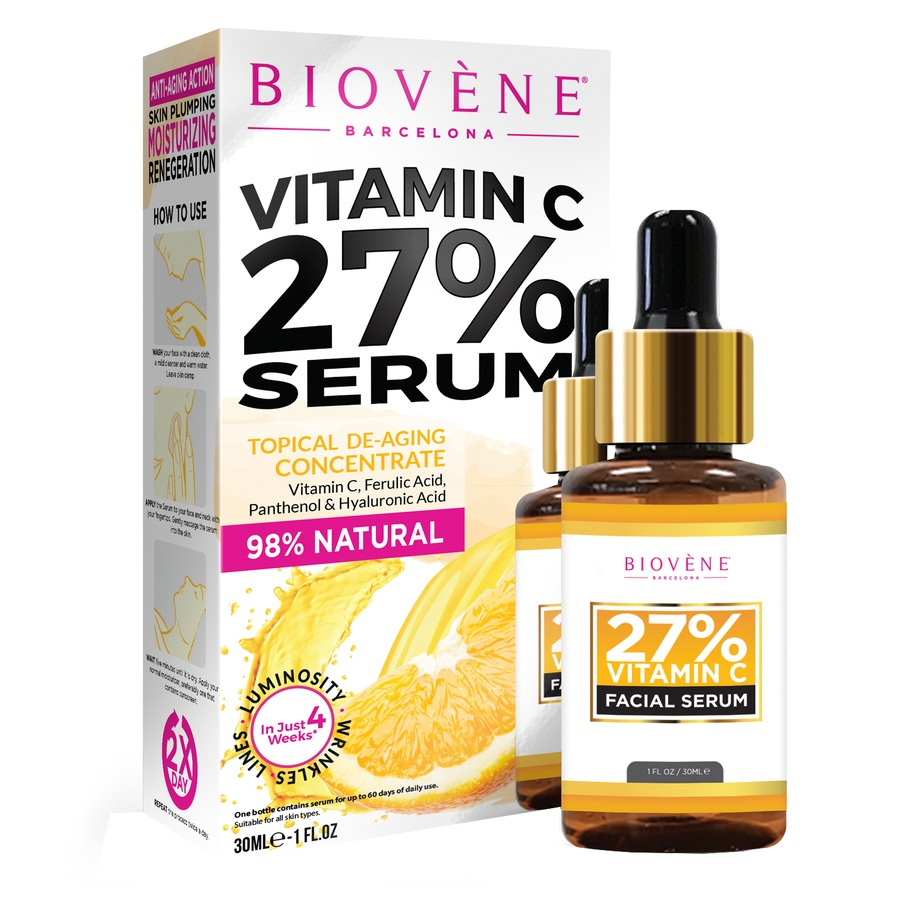 Biovène Vitamin C 27% Facial Serum 30ml