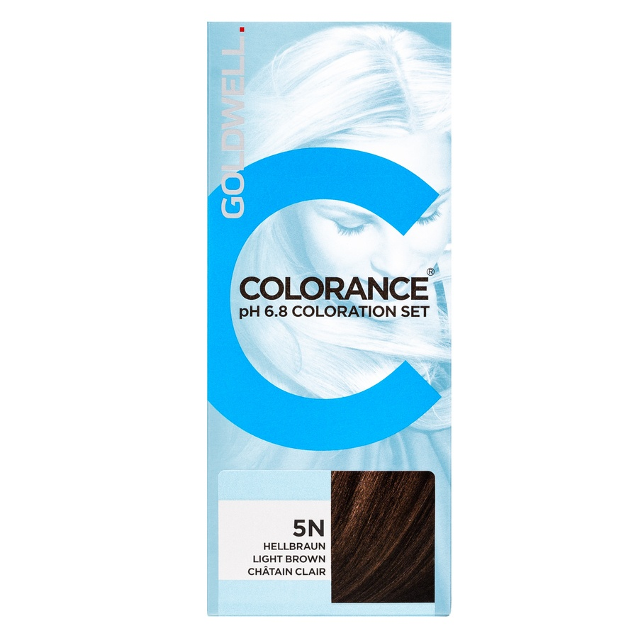 Goldwell Colorance pH 6.8 Coloration Set 5N Ligh Brown 90ml