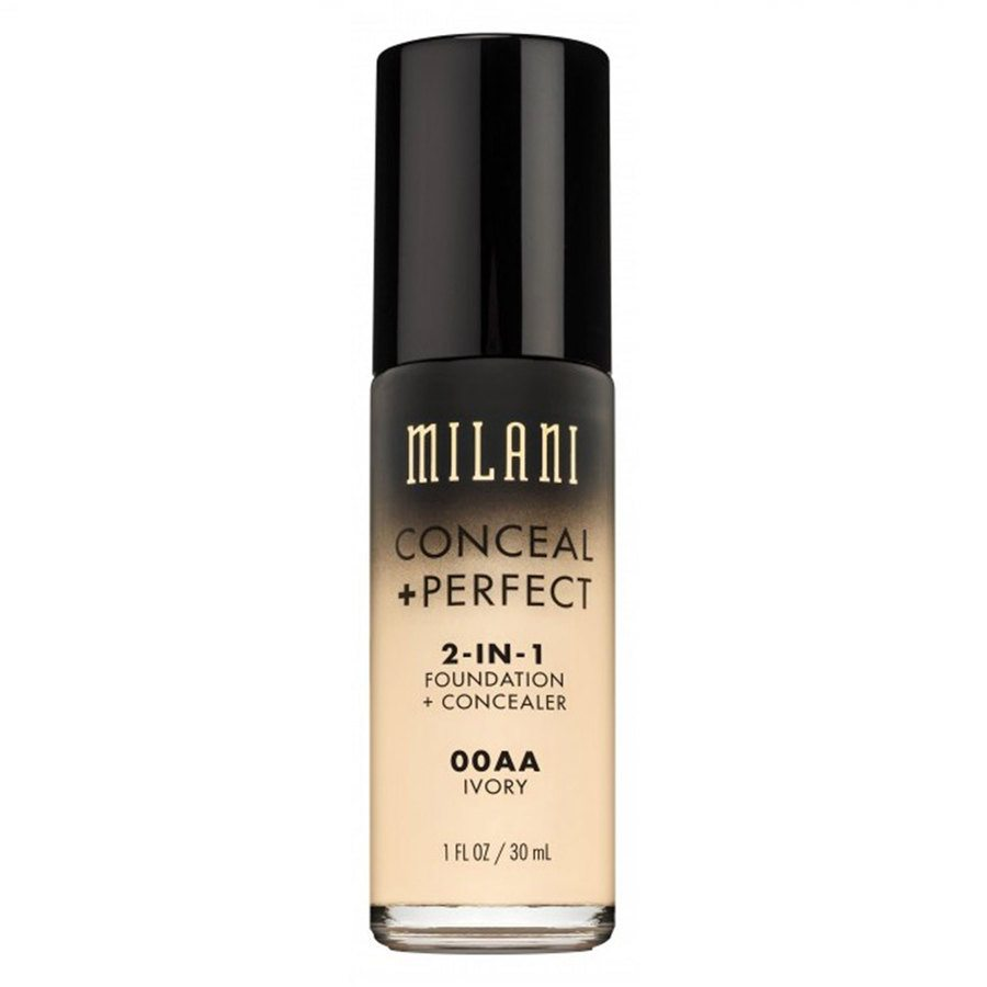Milani Conceal & Perfect 2 In 1 Foundation Concealer Ivory 30 ml