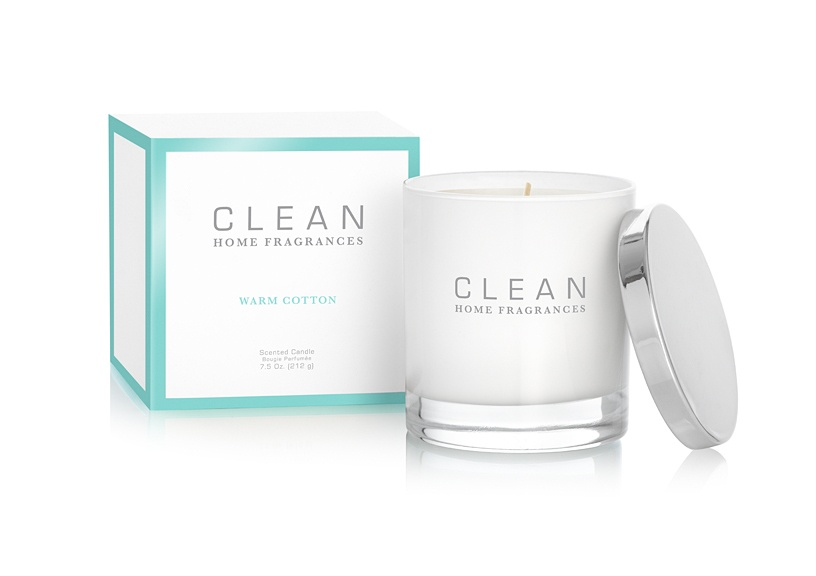 CLEAN Home Collection Warm Cotton Candle 212g