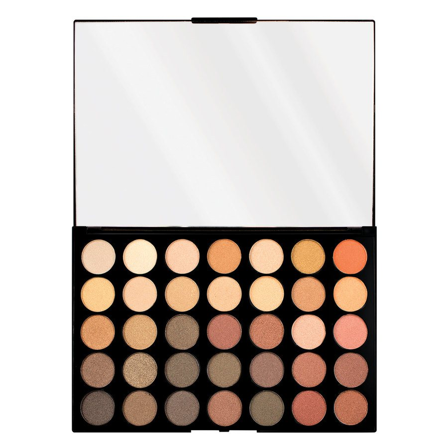 Makeup Revolution Pro HD 35 Eyeshadow Palette Amplified Total Shimmer Direction