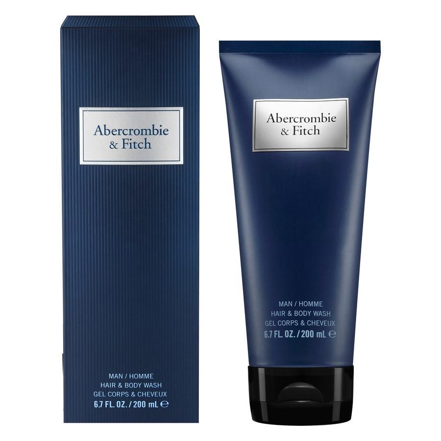 Abercrombie & Fitch Blue Men Hair & Body Wash 200 ml
