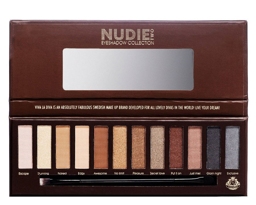 Viva La Diva Eyeshadow Collection Nudie Two