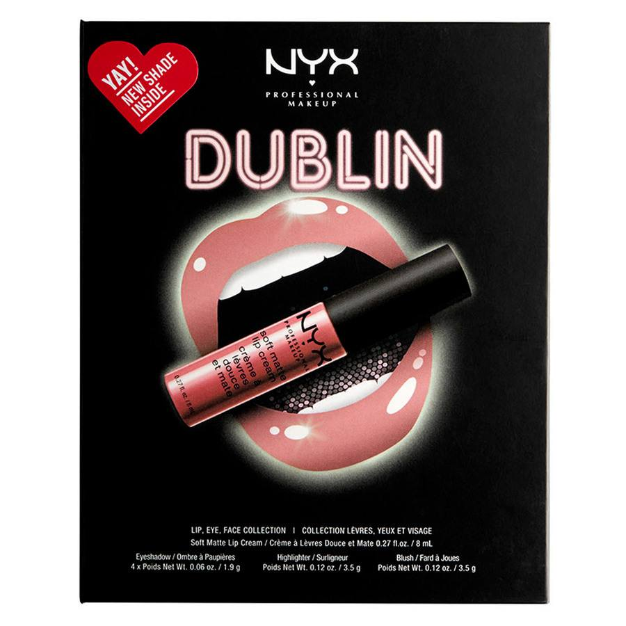NYX Professional Makeup City Set Dublin