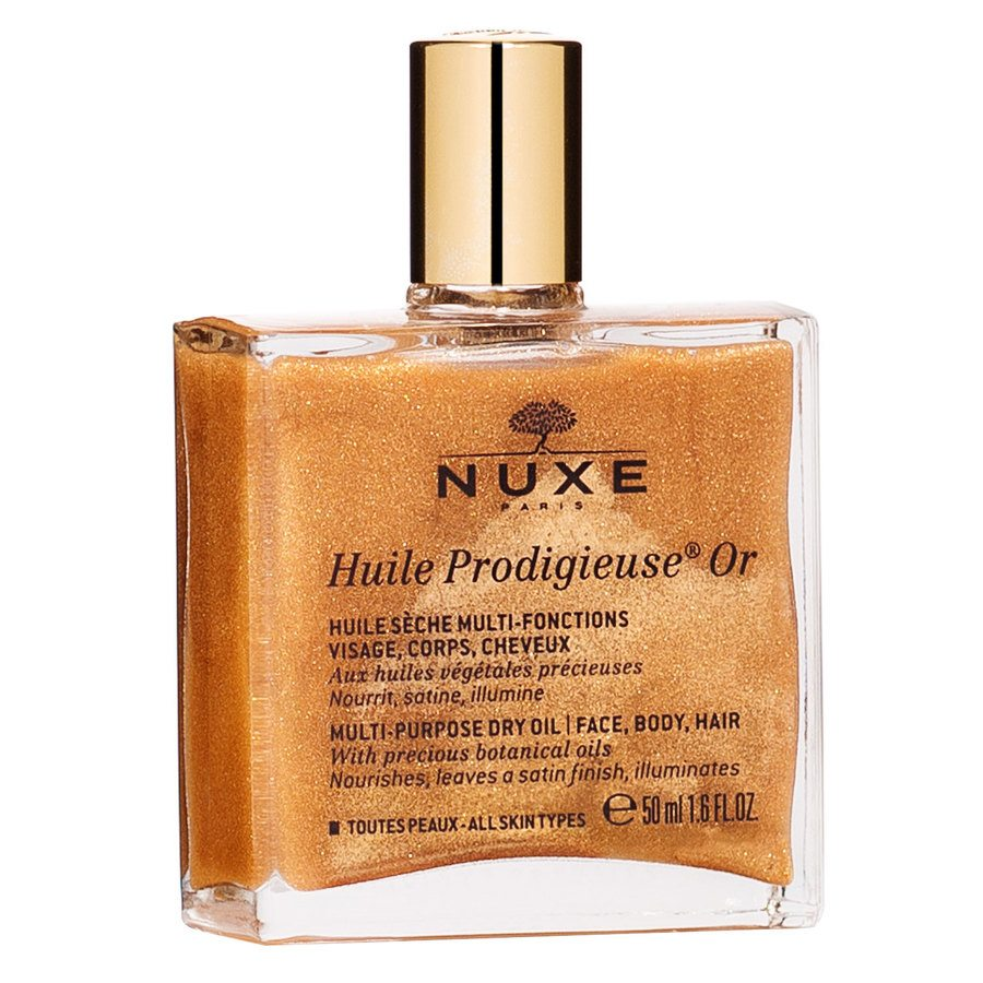 Nuxe Huile Prodigieuse OR Multi-Purpose Dry Oil Face, Body, Hair 50ml