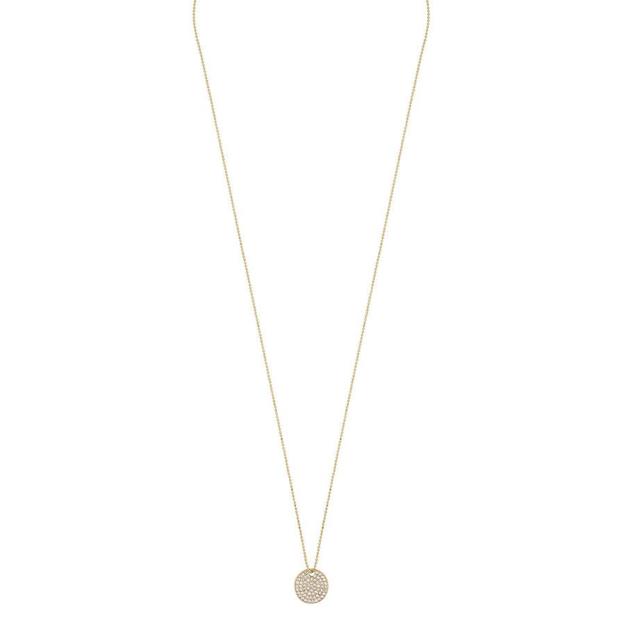 Snö of Sweden Corinne Pendant Necklace 60 cm Gold/Clear
